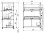 Мельница лабораторная шаровая МШЛ-2 двухярусная