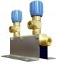 Коллектор рамповый КР-01 кислородный 2-х вентильный