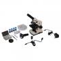 Микроскоп школьный Эврика 40х-1280х с видеоокуляром